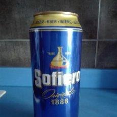 Coleccionismo de cervezas: LATA CERVEZA VACIA 50CL - SOFIERO - SUECIA - CAD 2006 - LOGO WORLD BEER CUP 2004. Lote 122016239