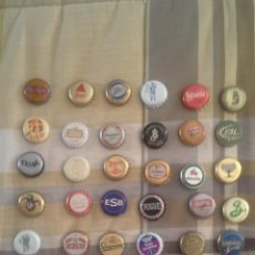 Coleccionismo de cervezas: 40 TAPON CORONA DE DIFERENTES CERVEZAS. PARA COLECCIONISTA.. Lote 122170492