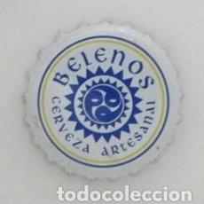 Coleccionismo de cervezas: CHAPA DE CERVEZA ESPAÑOLA BELENOS - ARTESANAL - CANTABRIA ESPAÑA - BEBIDA. Lote 122173455