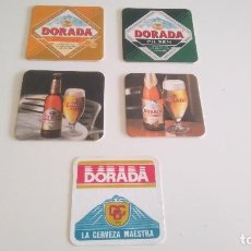 Coleccionismo de cervezas: POSAVASOS CERVEZA DORADA. Lote 122208983