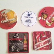 Coleccionismo de cervezas: POSAVASOS CRUZCAMPO. Lote 122210371