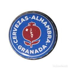 Coleccionismo de cervezas: CHAPA CERVEZA ALHAMBRA EDICIÓN LIMITADA 2018 - ESPAÑA. Lote 205866062