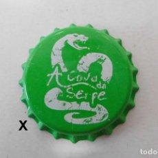 Collezionismo di birre: TAPON CORONA CHAPA BEER BOTTLE CAP KRONKORKEN TAPPI CAPSULE CERVEZA A COVA DA SERPE. Lote 241771990