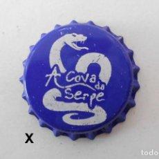 Collezionismo di birre: TAPON CORONA CHAPA BEER BOTTLE CAP KRONKORKEN TAPPI CAPSULE CERVEZA A COVA DA SERPE. Lote 241772295