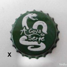 Collezionismo di birre: TAPON CORONA CHAPA BEER BOTTLE CAP KRONKORKEN TAPPI CAPSULE CERVEZA A COVA DA SERPE. Lote 241772590