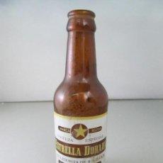 Coleccionismo de cervezas: BOTELLA DE CERVEZA ESTRELLA DORADA - INDUSTRIAL CERVECERA SEVILLANA S,A, - MUY DIFÍCIL DE ENCONTRAR. Lote 123004479