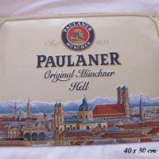 Coleccionismo de cervezas: CHAPA PUBLICITARIA CERVEZA PAULANER. Lote 123136779