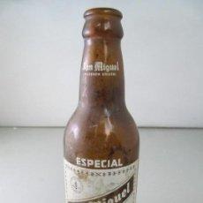 Coleccionismo de cervezas: ANTIGUA BOTELLA DE CERVEZA SAN MIGUEL ESPECIAL. TAMAÑO 1/5. Lote 123290347