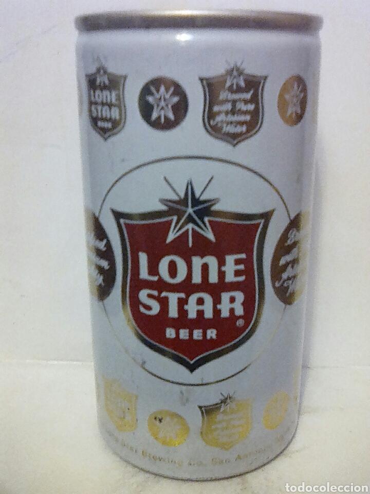 LATA CERVEZA LONE STAR BEER USA (Coleccionismo - Botellas y Bebidas - Cerveza )