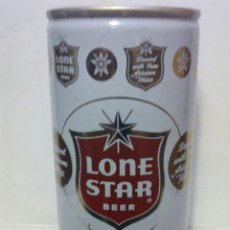Coleccionismo de cervezas: LATA CERVEZA LONE STAR BEER USA. Lote 123290688