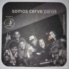 Coleccionismo de cervezas: POSAVASOS CERVEZA ESTRELLA GALICIA 100 ANIVERSARIO SOMOS CERVEZEROS COASTERS CERVEZA BEER DIFICIL. Lote 124148027