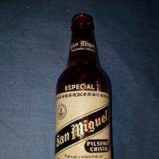 Coleccionismo de cervezas: BOTELLA CERVEZA TERCIO SAN MIGUEL ESPECIAL SERIGRAFIA. Lote 124259598