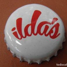 Coleccionismo de cervezas: CHAPA CERVEZA ARTESANA ILDA'S. BARCELONA. LOTE N. 402-----CARMANJO. Lote 124278235