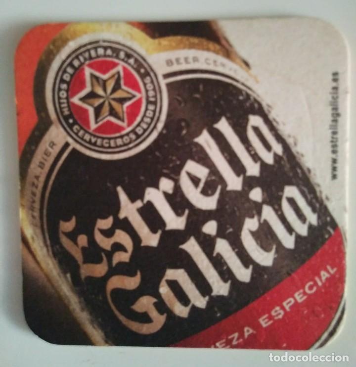 ESTRELLA GALICIA HIJOS DE RIVERA CERVECEROS DESDE 1906 POSAVASOS CARTON COASTERS CERVEZA BEER BIER - 124515471