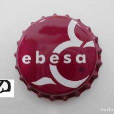 Coleccionismo de cervezas: TAPON CORONA CHAPA BOTTLE CAP KRONKORKEN TAPPI CAPSULE SIDRA EBESA. Lote 124605047