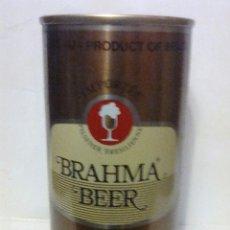 Coleccionismo de cervezas: LATA CERVEZA BRAHMA BEER BRASIL. Lote 124611559