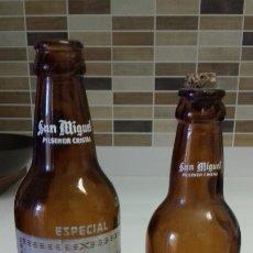 Coleccionismo de cervezas: BOTELLA CERVEZA SAN MIGUEL. Lote 125063923