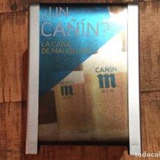 Coleccionismo de cervezas: SERVILLETERO DE PLÁSTICO, CERVEZA MAHOU SIN ALCOHOL. Lote 125446651