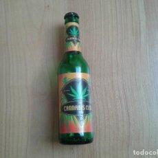 Coleccionismo de cervezas: BOTELLA CERVEZA ECOLÓGICA-- 0,33 L -- THE CANNABIS CLUB SUD -- 2001 -- VACÍA. Lote 126547699