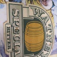 Coleccionismo de cervezas: POSAVASOS CARTON DURO WATNEYS. Lote 127257695