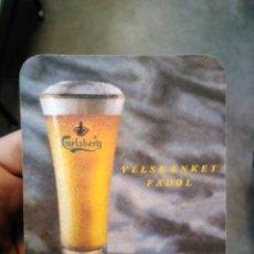 Coleccionismo de cervezas: POSAVASOS CARLSBERG CERVEZA BEER. Lote 127466399
