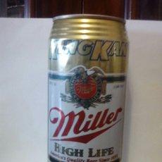 Coleccionismo de cervezas: LATA CERVEZA MILLER USA. Lote 195252366