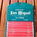 Coleccionismo de cervezas: CERVEZA SAN MIGUEL GUÍA SERVICIO A DOMICILIO. AÑOS 70'S. Lote 117977983