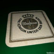 Coleccionismo de cervezas: ANTIGUO POSAVASOS. CERVEZA WARFEINER. Lote 128340803