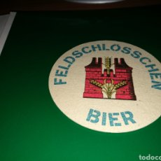 Coleccionismo de cervezas: ANTIGUO POSAVASOS. CERVEZA FELDSCHLOSSCHEN. Lote 128341067
