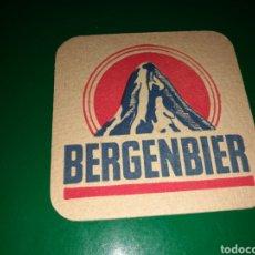 Coleccionismo de cervezas: ANTIGUO POSAVASOS DE CERVEZA BERGENBIER. Lote 128350466