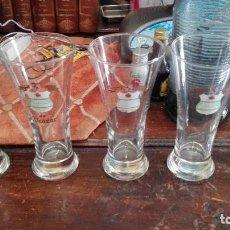 Coleccionismo de cervezas: 6 VASOS ALCAZAR DE CAÑA. Lote 128428891