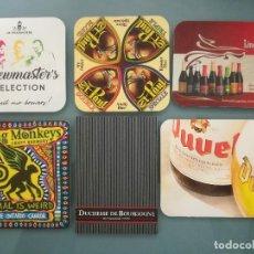 Coleccionismo de cervezas: 6 POSAVASOS DE CERVEZA 2. Lote 128463115