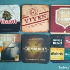 Coleccionismo de cervezas: 6 POSAVASOS DE CERVEZA 3. Lote 128463347