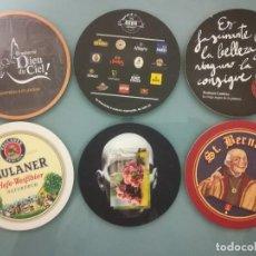 Coleccionismo de cervezas: 6 POSAVASOS DE CERVEZA 5. Lote 128464179