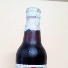 Coleccionismo de cervezas: BOTELLA CERVEZA EL AGUILA RESERVA EXTRA ESPECIAL CHAPA LLENA DE ORIGEN. Lote 128478747