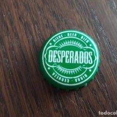 Coleccionismo de cervezas: CHAPA DE CERVEZA DESPERADOS VERDE.. Lote 195130463