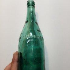 Coleccionismo de cervezas: BOTELLA ANTIGUA CERVEZA DAMM 75CL O 28 CM. Lote 129658854