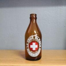 Coleccionismo de cervezas: BOTELLA CERVEZAS CRUZ BLANCA BOTELLIN. Lote 219449602