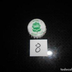 Coleccionismo de cervezas: TAPON CORONA CHAPA BOTTLE CAP KRONKORKEN TAPPI CAPSULE BATIDO LAUKI AÑOS 80. Lote 130003439