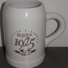 Coleccionismo de cervezas: JARRA CERVEZA ALHAMBRA. Lote 130125047