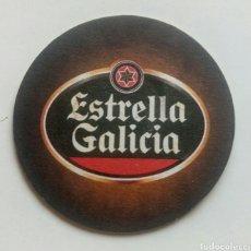 Coleccionismo de cervezas: POSAVASOS ESTRELLA GALICIA CERVEZA EXAGERADAMENTE BUENA. Lote 130443683