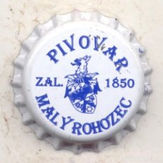 Coleccionismo de cervezas: CHAPA CERVEZA PIVOVAR MALY ROHOZEC - REP. CHECA XAPA KRONKORKEN TAPPI BOTTLE CAP CAPSULE. Lote 130472642