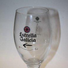 Coleccionismo de cervezas: COPA ESTRELLA GALICIA JACOBEO 2010. Lote 130766052