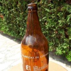 Coleccionismo de cervezas: BOTELLA CERVEZA EL ÁGUILA. 1L. Lote 130792056