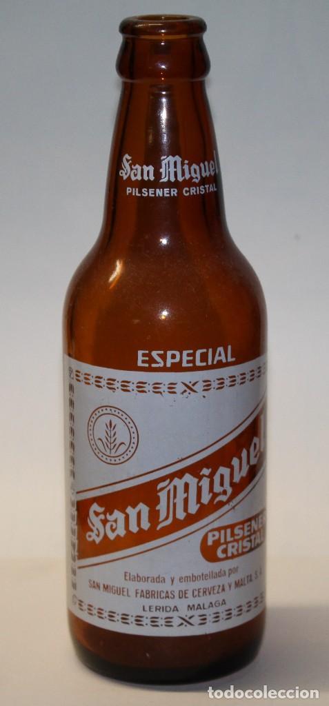BOTELLA SAN MIGUEL (Coleccionismo - Botellas y Bebidas - Cerveza )