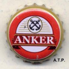 Coleccionismo de cervezas: CHAPA CERVEZA ANKER - INDONESIA XAPA KRONKORKEN TAPPI BOTTLE CAP CAPSULE. Lote 130972104