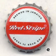 Coleccionismo de cervezas: CHAPA CERVEZA RED STRIPE - JAMAICA XAPA KRONKORKEN TAPPI BOTTLE CAP CAPSULE. Lote 130975052