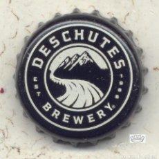 Coleccionismo de cervezas: CHAPA CERVEZA DESCHUTES BREW. - USA XAPA KRONKORKEN TAPPI BOTTLE CAP CAPSULE. Lote 130975344