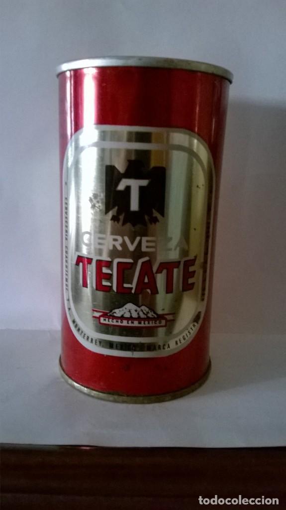 Lata Cerveza Tecate Mexico Kaufen Auswahl Von Verschiedenen