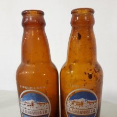Coleccionismo de cervezas: BOTELLAS CERVEZA ALHAMBRA. Lote 131203136